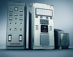Industrial Units 3D asset