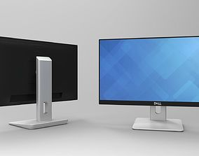 3D asset Dell ips led monitor