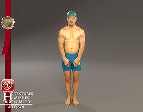 Swimmingpool Male ACC 3140 0001 3D model