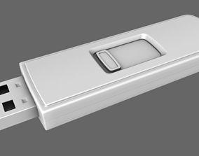 3D model USB Sandisc Cruzer Stick