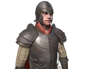 3D model rigged Guard