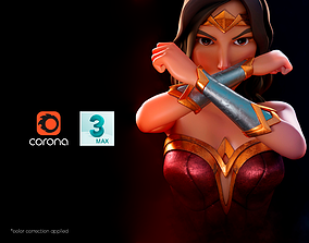 Wonder Woman - No Rigging 3D