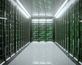 3D asset Server room