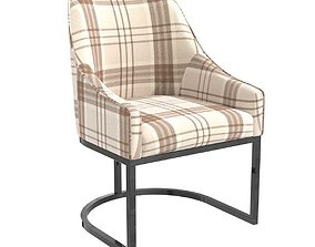 Charter furniture dining armchair 3D model