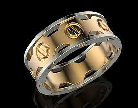 rings Wedding Ring 3D print model
