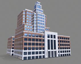 The Embarcadero 250 Street Building San Francisco 3D model