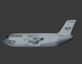 3D asset Globemaster Aircraft