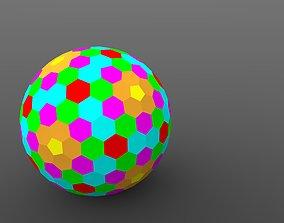 3D print model Goldberg polyhedron