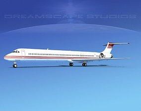 3D model McDonnell Douglas MD-90 Corporate 5