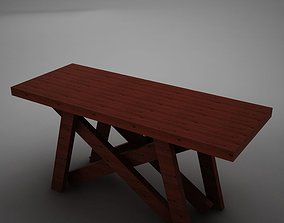 3D model High def Dining Room Buffet Table
