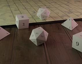 DnD dice 3D print model
