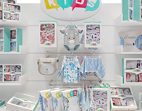 Childrens Clothing Store 3D other