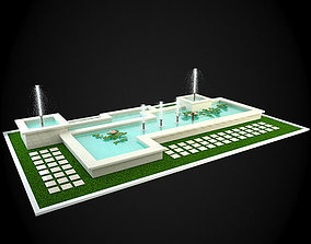 interior 3D Fountain