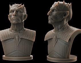 3D printable model Night King Bust v2- Game of