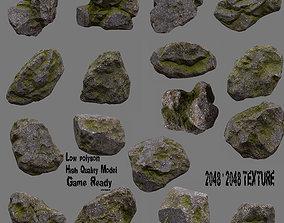 3D model Rock 50