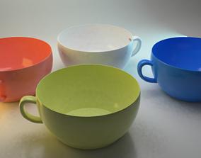 3D model kitchenware Tea Cup