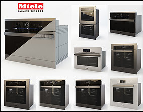 Miele 8 Wall Ovens 3D model