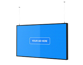 Digital Panel Horizontal 55 Inch 3D