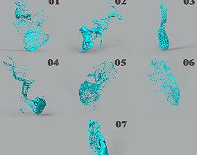 Liquid Spray 7 in1 3D model