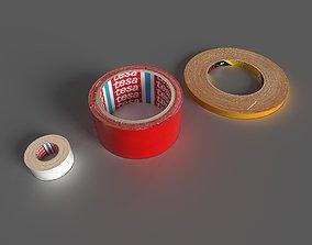 duct tape 3D asset