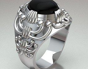 Ring Man 3D print model rings
