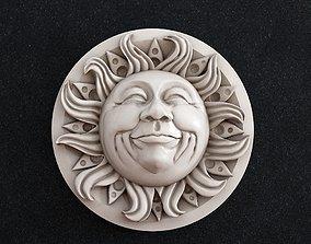 Sun Face mask 3D printable model