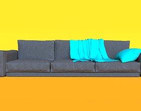 render 3D Modern Sofa