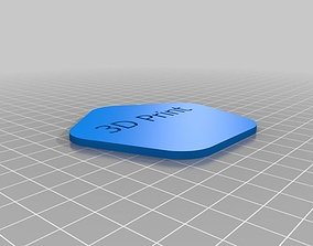 YADC - yet another drink coaster 3D print model