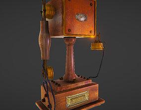 Vintage Telephone 3D asset realtime