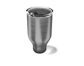 Thermal cup 3D model