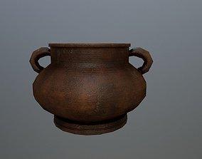 Clay vase 3D model