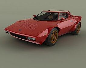Lancia Stratos HF Stradale 3D