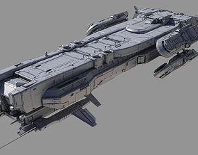 3D Battlecruiser Class A