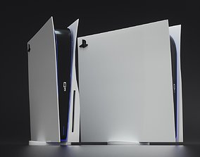 PlayStation 5 3D model computer