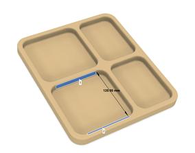 Key and wallet holder 3D printable model