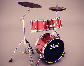 Drums 3D audio