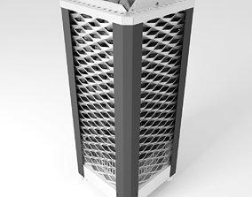 EOS Saunadome II sauna heater unit 3D