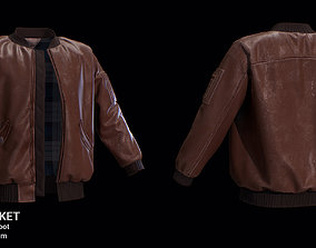 Bomber Jacket for Marvelous Designer fashion 3D