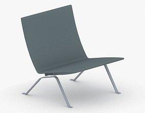 3D asset 0545 - Armchair
