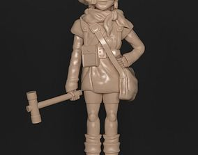LUCCA CHRONO TRIGGER HAMMER VERSION 3D printable model