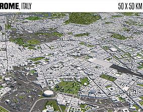 3D Rome Italy