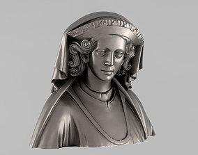 Printable bust of Queen Margaret
