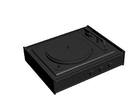 Vinyl player 3D print model