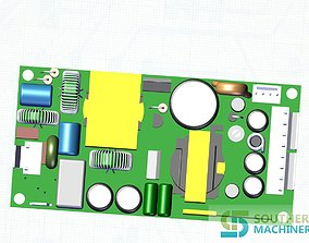 How to make Power supply PCB assembly in Smart 3D model 1