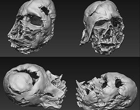 Star Wars - Melted Darth Vader Helmet PRE-SLICED 3D 1
