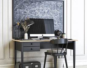 Office workplace 28 3D
