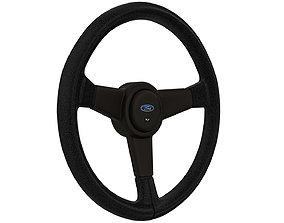 3D asset Ford RS Streering Wheel