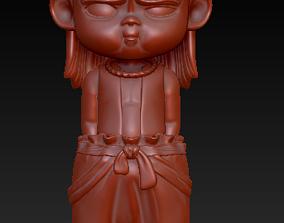3D print model Chinese Shenhua cartoon characters Ne zha