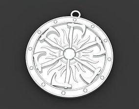 Amulet pendant 3D print model