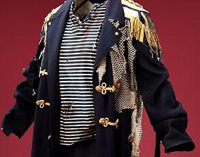 3D model Marine Coat Costume